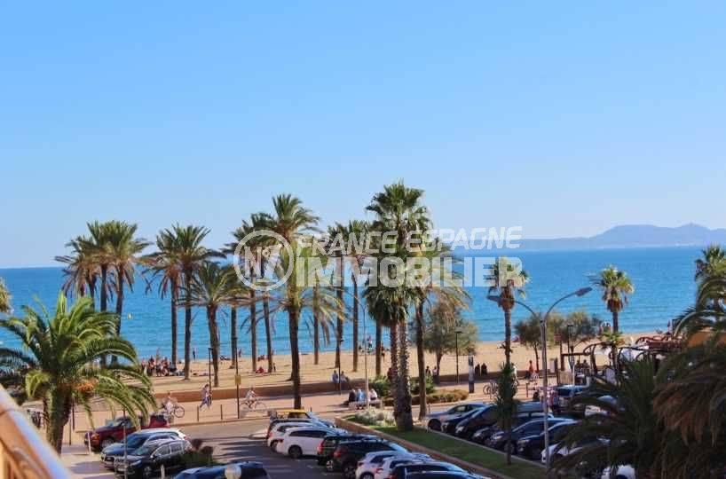 santa margarida, appartement vue mer proche plage, ref: 3543