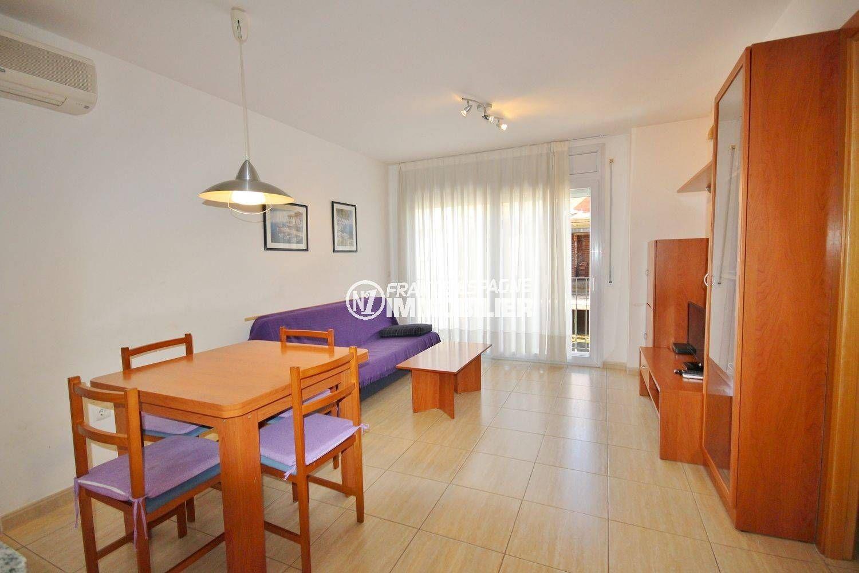 Appartement Proche Plage: Appartement Centre Rosas, Proche Plage, Parking Prive