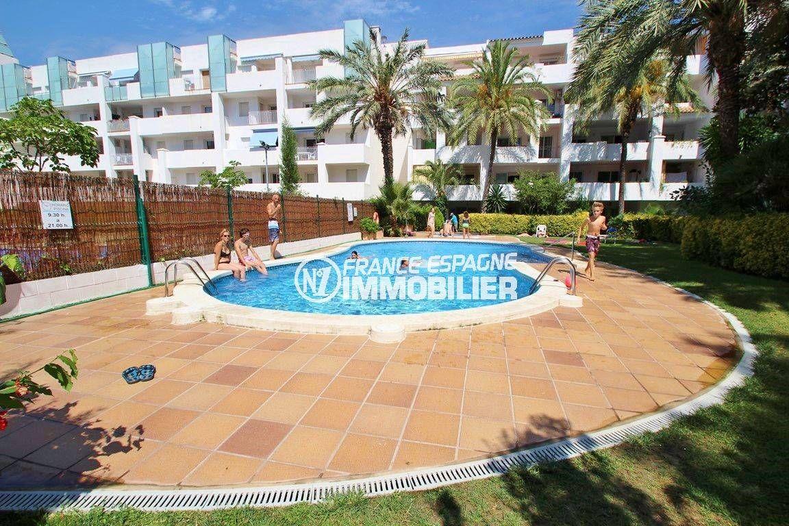 SANTA - MARGARIDA APPARTEMENT ATICO - vue piscine