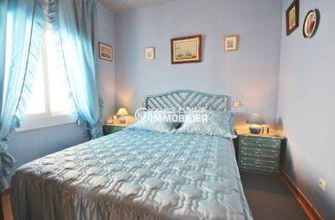 immobilier roses espagne: appartement ref.3517, chambre avec lit double
