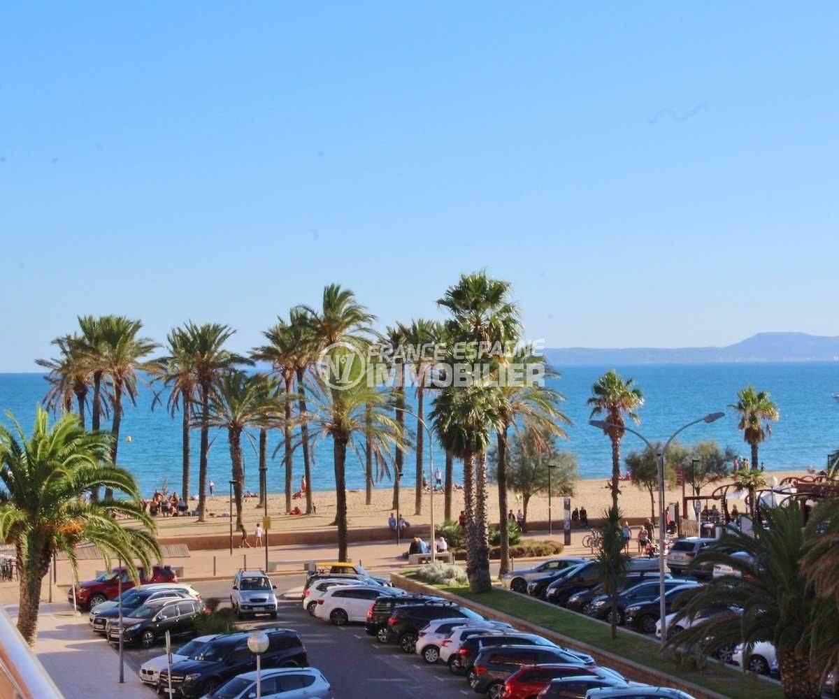 santa margarita espagne : appartement 58 m², vue mer proche plage, ref.3543