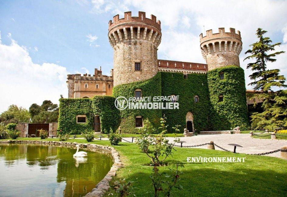 le château de peralada à proximité