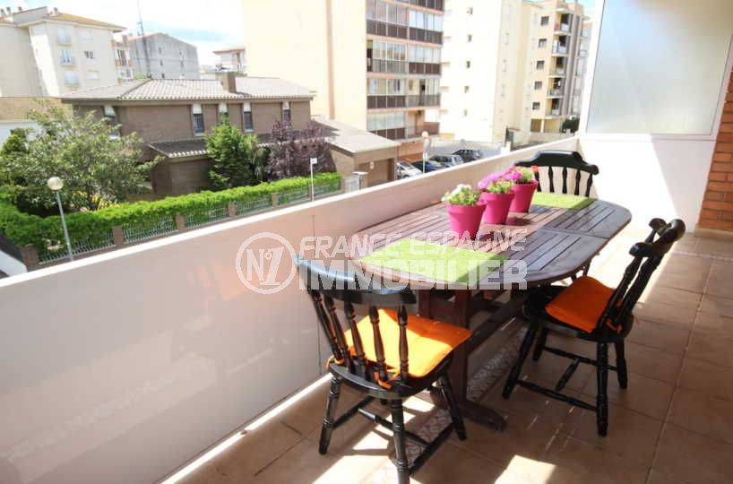 santa margarita: appartement à vendre, vue sur la terrasse ensoleillée