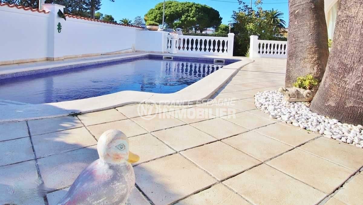 maison a vendre espagne, ref.3566, aperçu de la piscine de 8 m x 4 m