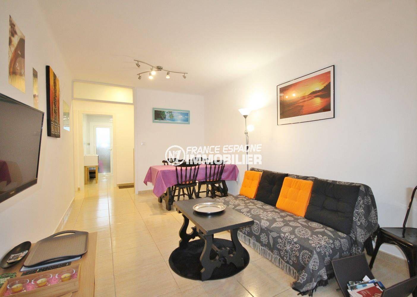 Appartement Proche Plage: Agence Immobiliere Rosas Santa Margarita: Appartement