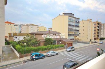appartements a vendre a rosas, 57 m², terrasse de 10 m² avec vue dégagée