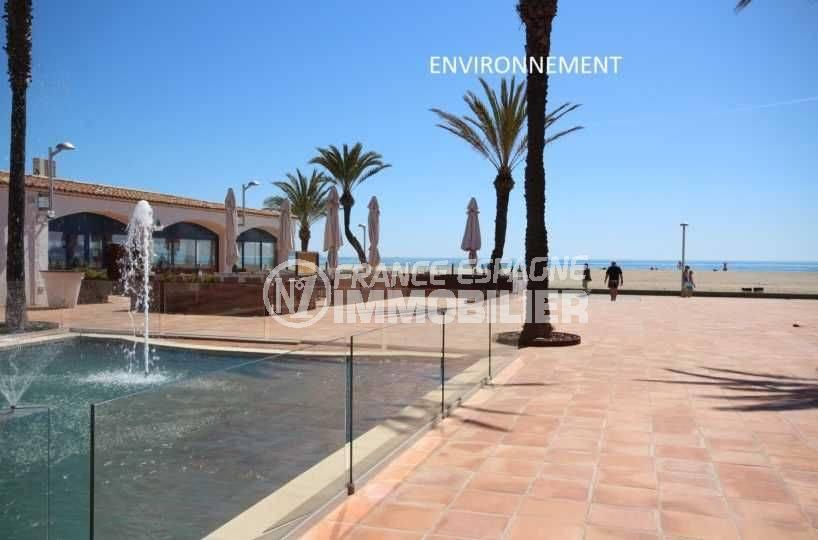 empuriabrava vente maison avec amarre, ref.3566, promenade près de la plage aux environs