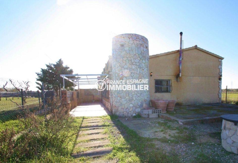 maison a vendre espagne costa brava - 109 m² sur grand terrain proche Palau