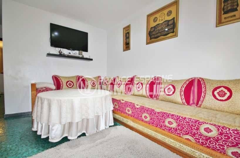 immobilier rosas: appartement ref.3579, aperçu du séjour