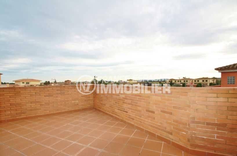 achat maison costa brava bord de mer, ref.3582, terrasse avec vue dégagée