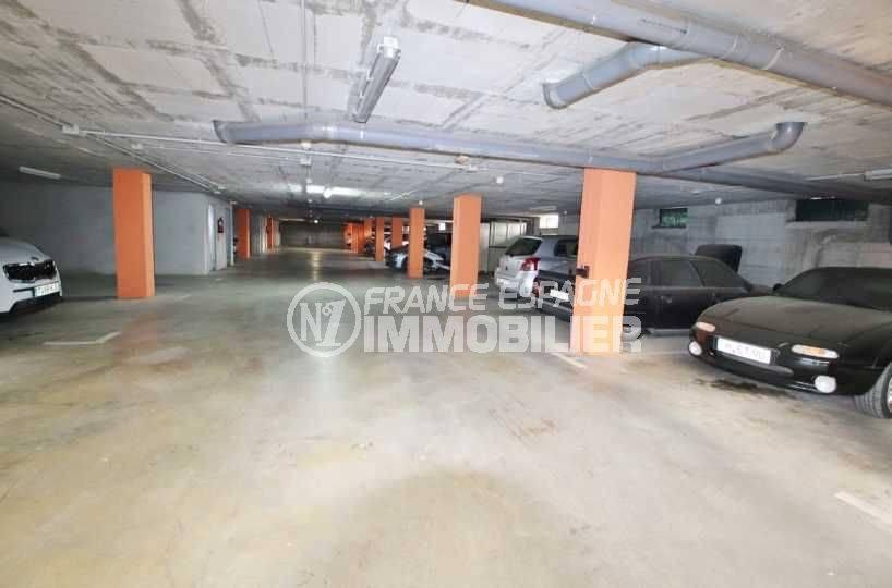 vente immobilière costa brava: appartement 146 m², possibilité parking en sous-sol