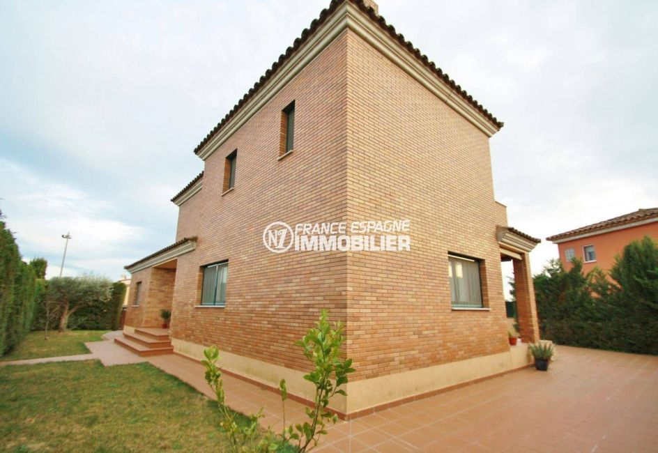 maison a vendre espagne costa brava, ref.3582, aperçu du terrain de 493 m²