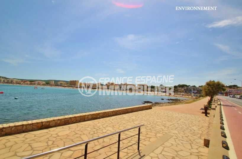 vente villa costa brava, ref.3582, promenade au bord de la plage environnante