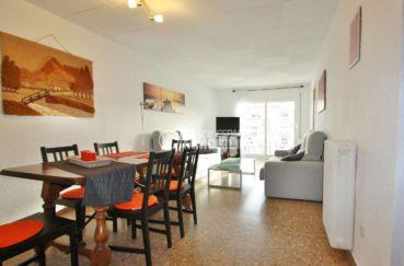 Appartement Empuriabrava vue salon, séjour lumineux bonne exposition sud