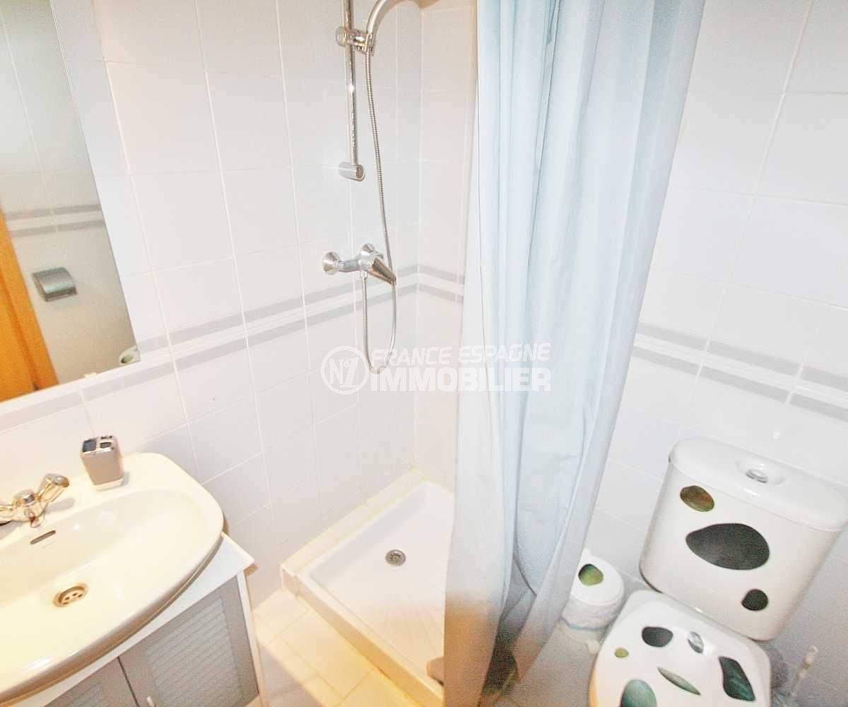 immo empuriabrava: studio ref.3600, salle d'eau et toilettes