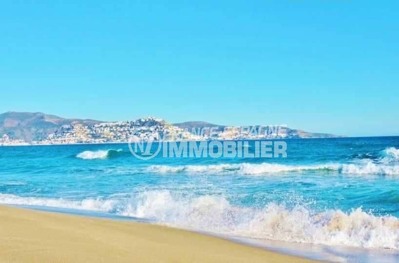 immobilier ampuriabrava: studio ref.3600, superbe plage à 50 m