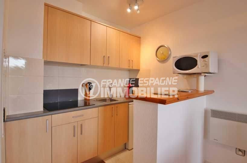 immobilier ampuriabrava: appartement ref.3559, vue rapprochée de la cuisine équipée
