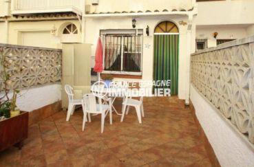 maison a vendre espagne bord de mer, 54 m² vendue meublée proche de tous commerces, plage 100 m