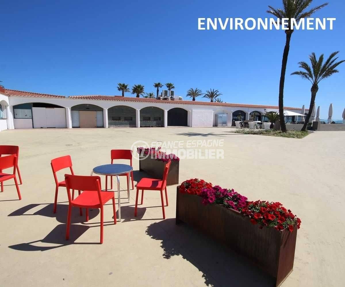 agence immobiliere empuriabrava: studio ref.3600, proche plage et commerces