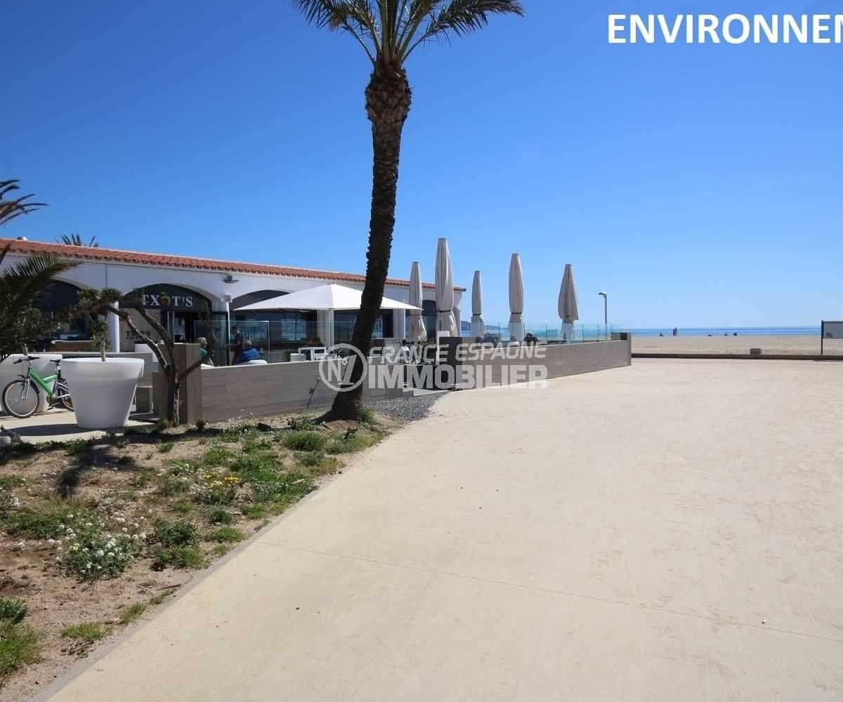 restaurants proche plage aux alentours
