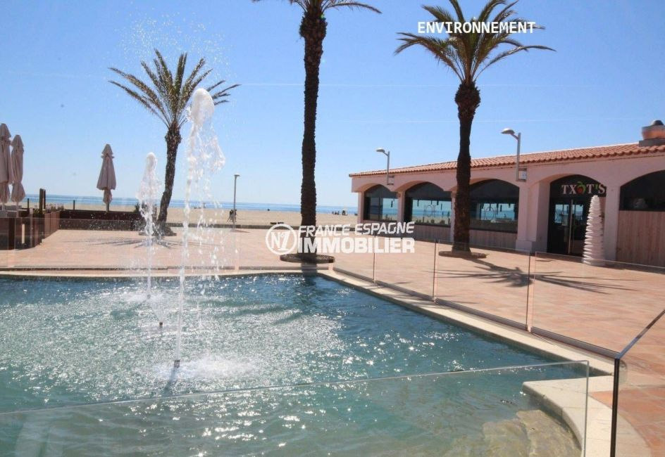 agence immobiliere costa brava: appartement ref.3559, fontaine aux environs, proche plage