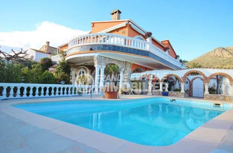 Villa Mas Bosca Roses, independant de plain-pied