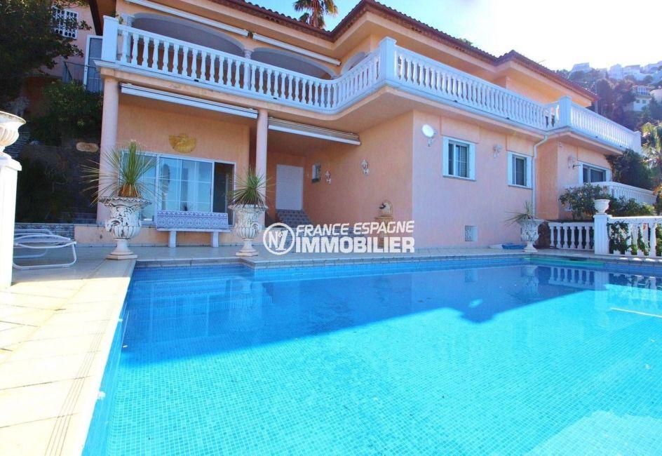 immobilier costa brava: magnifique villa de luxe ref.3614, avec sa pisicne de 10 m x 5 m