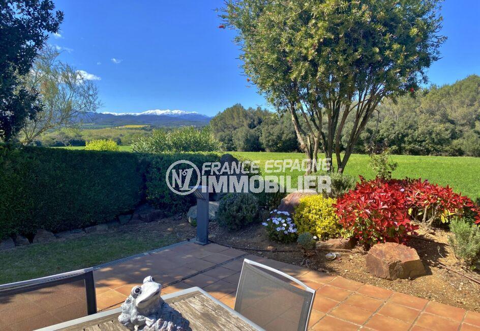 maison à vendre costa brava, 187 m² avec magnifique vue sur les montagnes