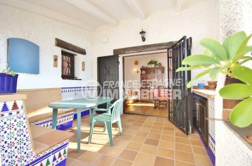 vente immobiliere espagne: villa 84 m², grande terrasse, piscine & parking