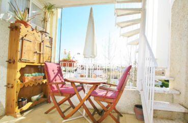 immo empuriabrava: studio 50 m² en duplex, petit prix, 2 terrasses & solarium