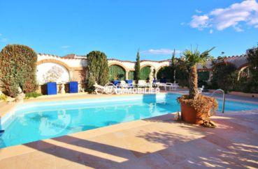 roses espagne: villa ref.3616, aperçu de la piscine sans vis-à-vis