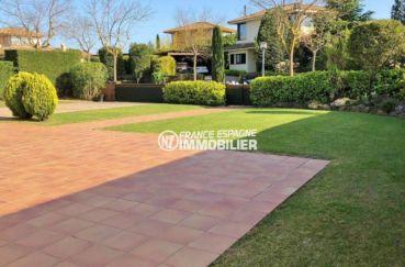 maison a vendre espagne costa brava, ref.3621, aperçu du terrain de 840 m²