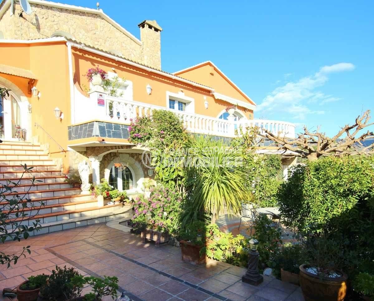 agence immobilière roses espagne: ref.3616, villa de 450 m² sur un terrain de 722 m²