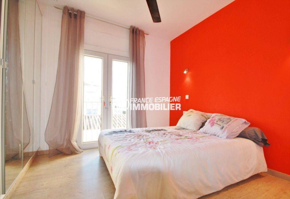 la costa brava: villa ref.3607, chambre parentale lumineuse avec placards