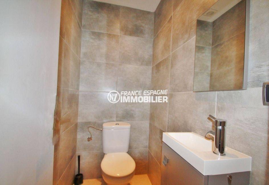 maison a vendre empuria brava,  ref.3607, wc indépendant avec lavabo