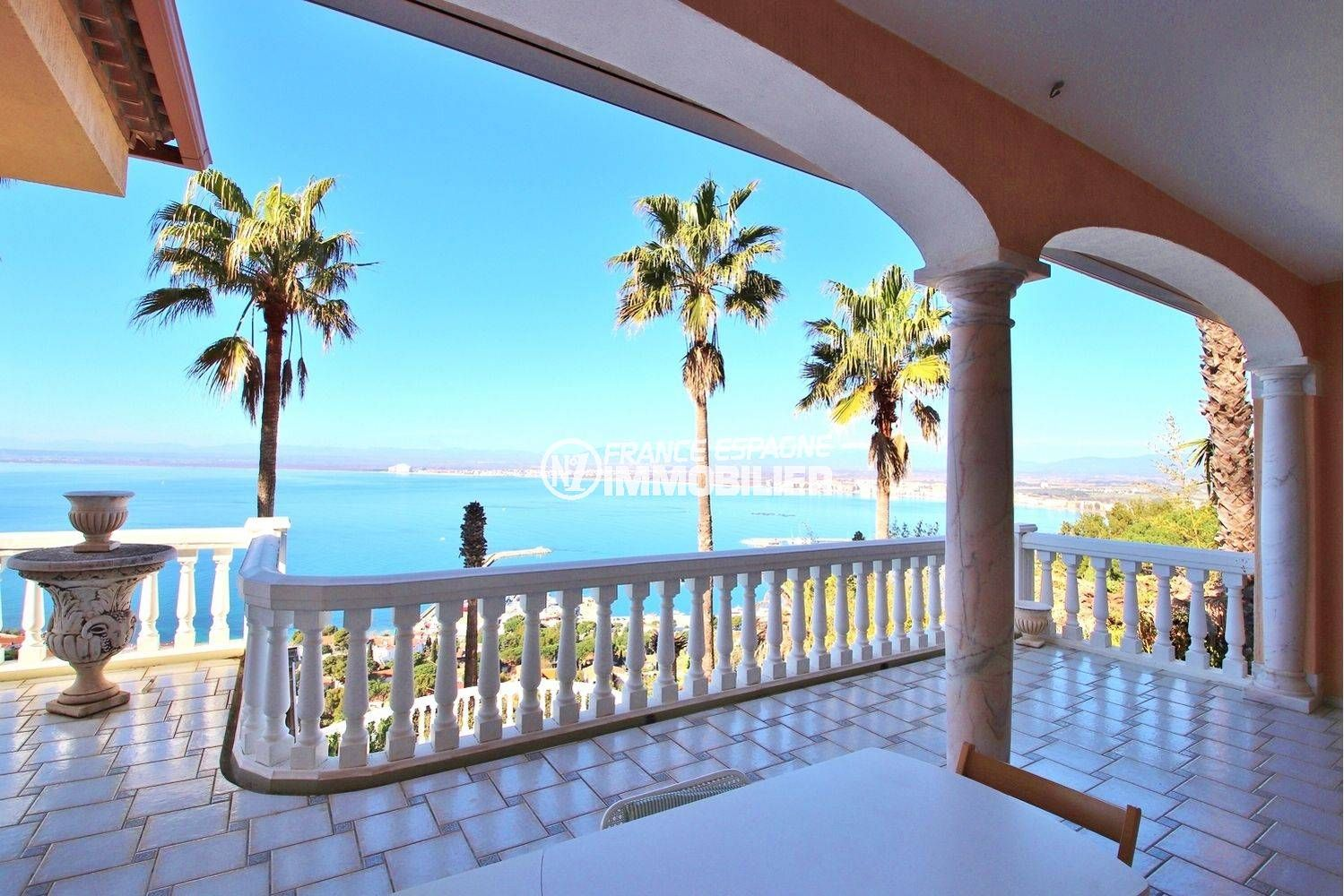agence immobilière costa brava: villa ref.3614, magnifique vue depuis la terrasse