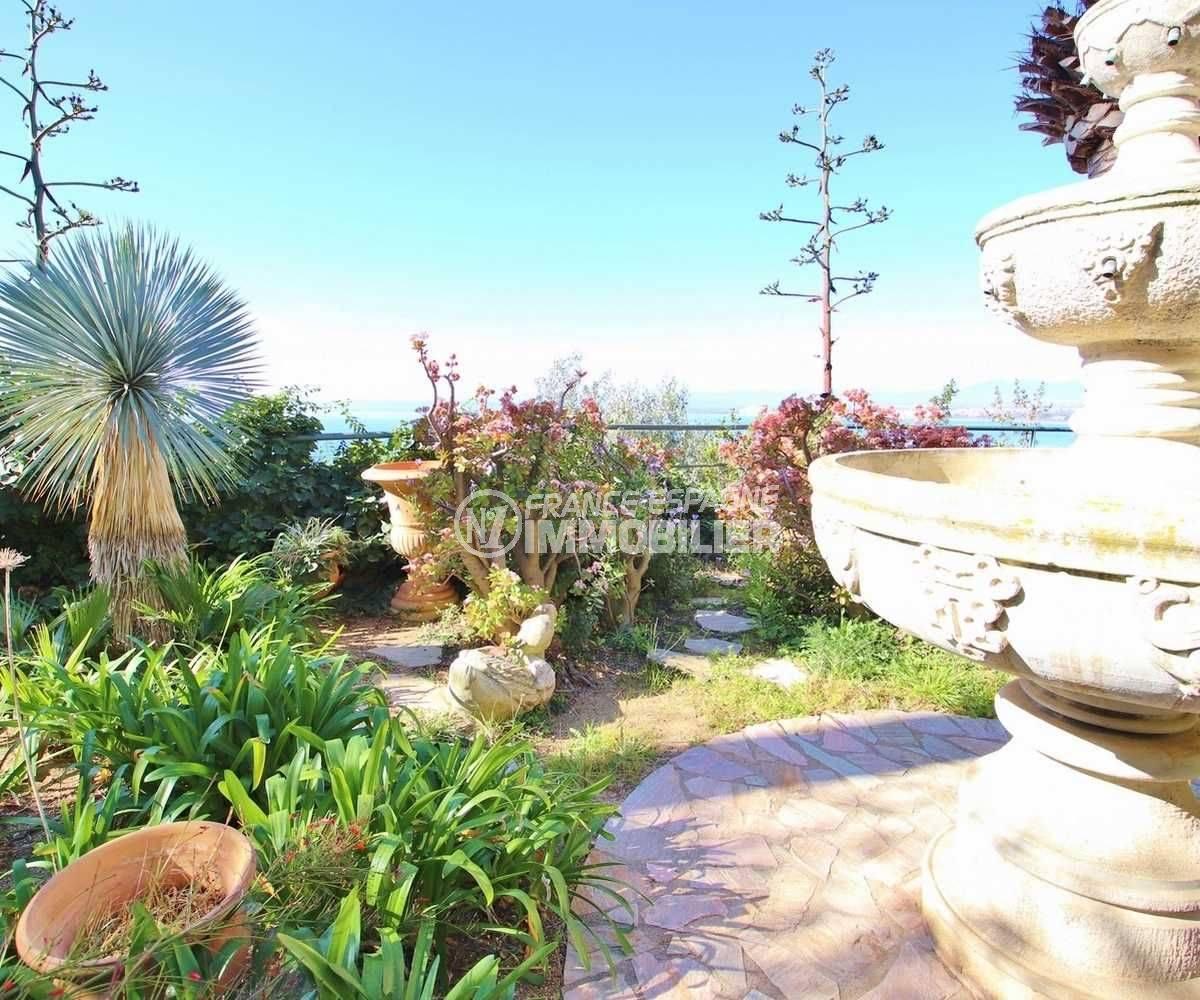 maison a vendre rosas, ref.3614, avec son jardin de 1140 m² paysagé