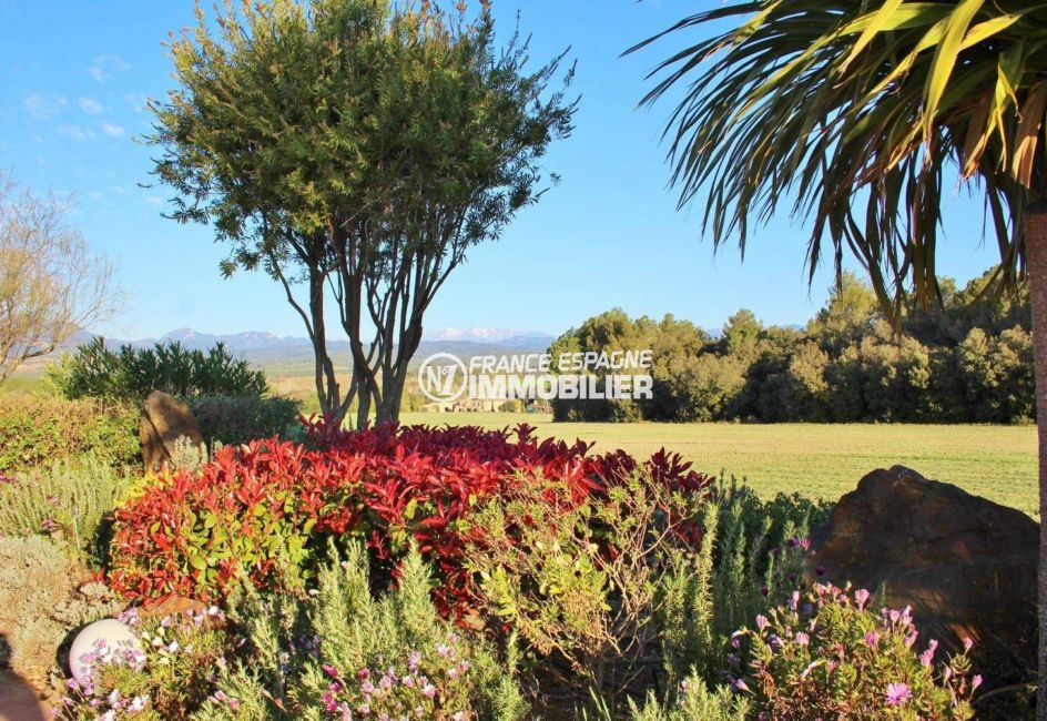 acheter maison espagne costa brava, ref.3621, vue sur les montagnes depuis le jardin
