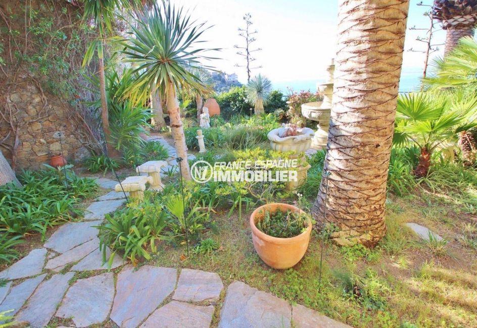 maison a vendre costa brava, ref.3614, terrain de 1140 m², jardin arboré