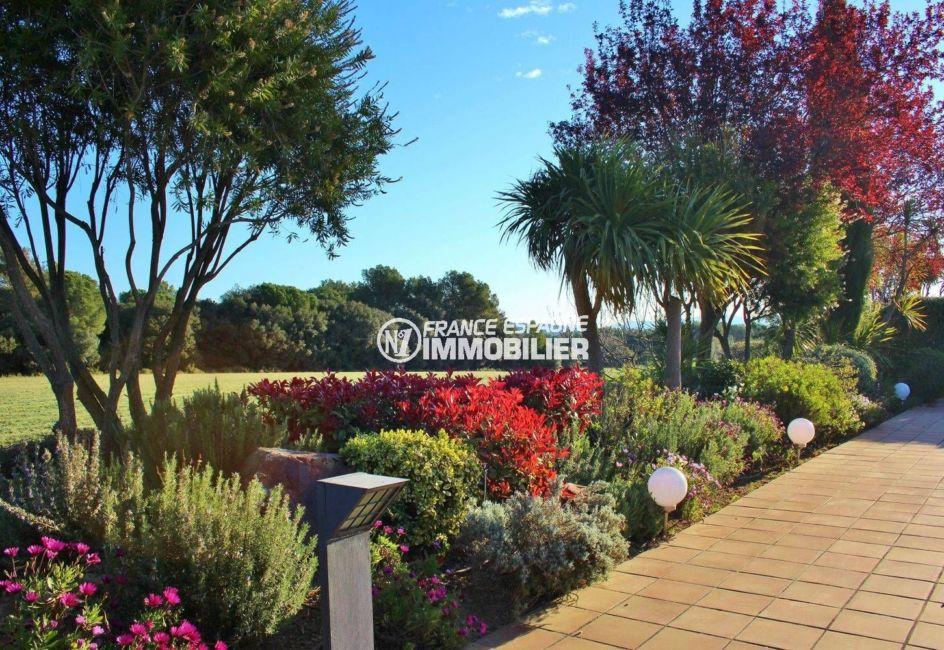 vente immobiliere costa brava: villa ref.3621, lumières installées sur la terrasse