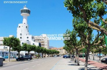 immobilier empuria brava: villa ref.3607, promenade le long de la plage