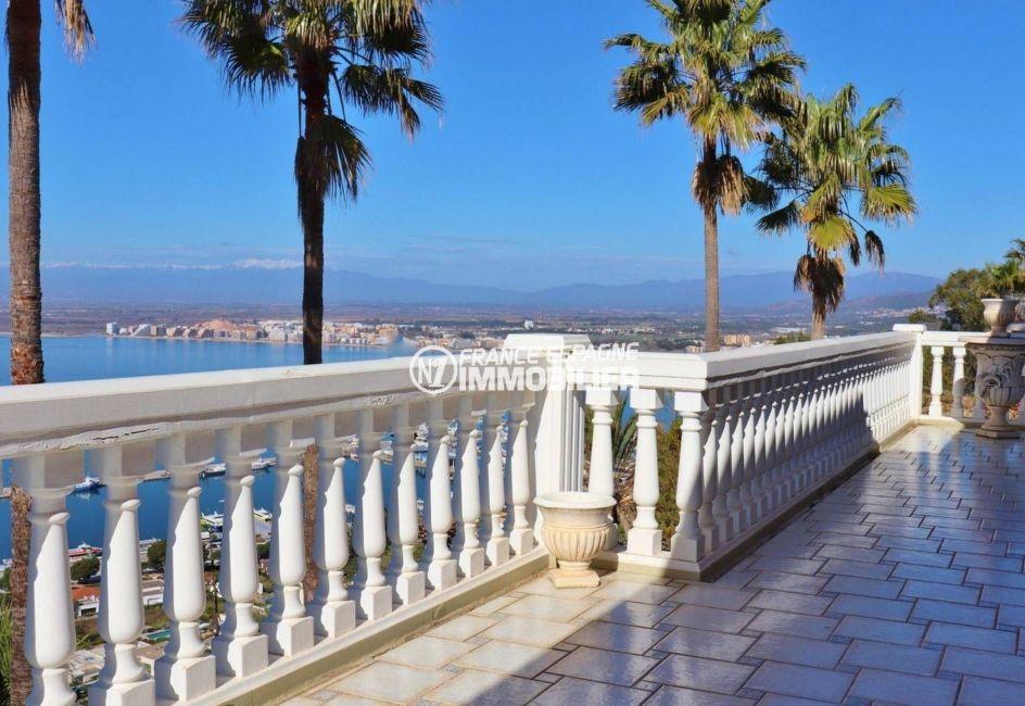 ventes immobilieres rosas espagne: villa ref.3614, aperçu de la baie et des montagnes