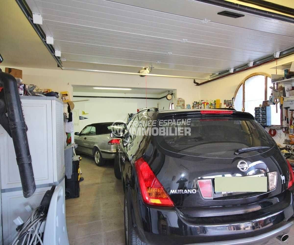 achat immobilier costa brava: villa ref.3616, vue sur le garage de 90 m²