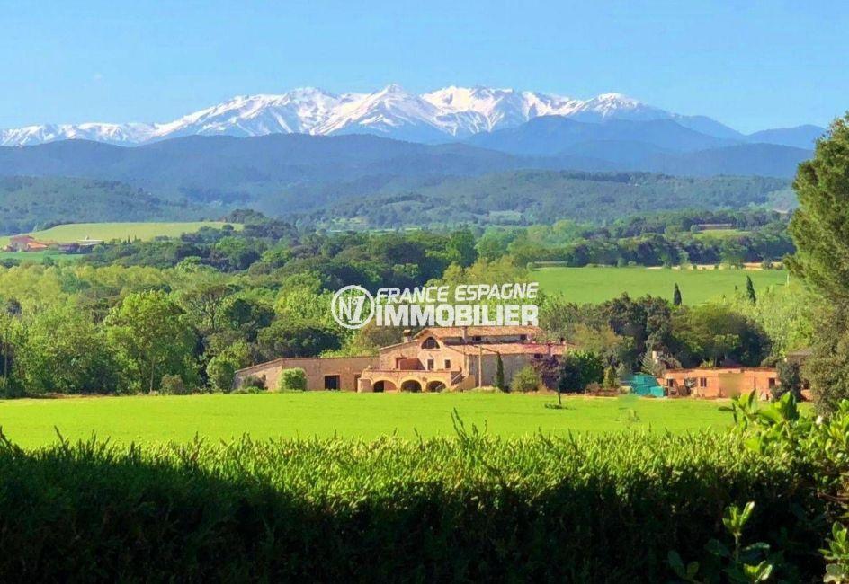 vente immobilier espagne costa brava: villa ref.3621, magnifique vue depuis la terrasse