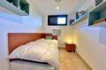 maison a vendre espagne costa brava, 187 m² avec chambre d'enfant, lit simple, étagères