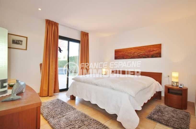 villa a vendre espagne costa brava, ref.3621, suite parentale: lit double accès terrasse