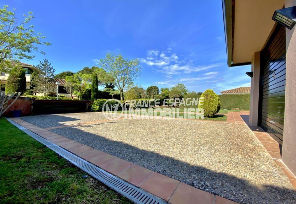 vente villa costa brava, villa 187 m², terrain 840 m², double garage