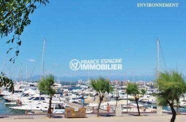 immo costa brava: villa ref.3616, vue sur le port et la côte aux environs
