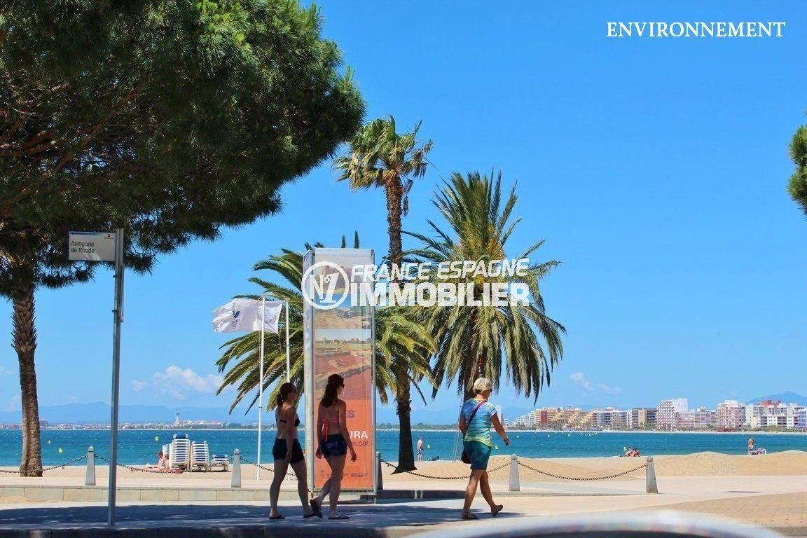 habitaclia rosas: villa ref.3616, promenade le long de la plage environnante