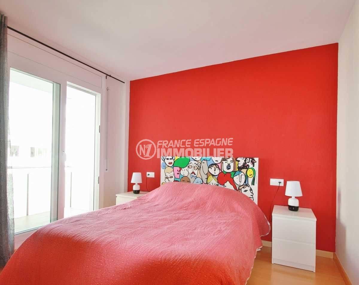 appartement a vendre costa brava, ref.3606, aperçu de la chambre double